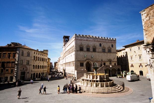 Perugia Fontana Umbria