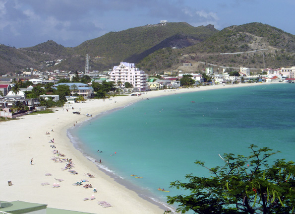 St Maarten Great Bay Beach