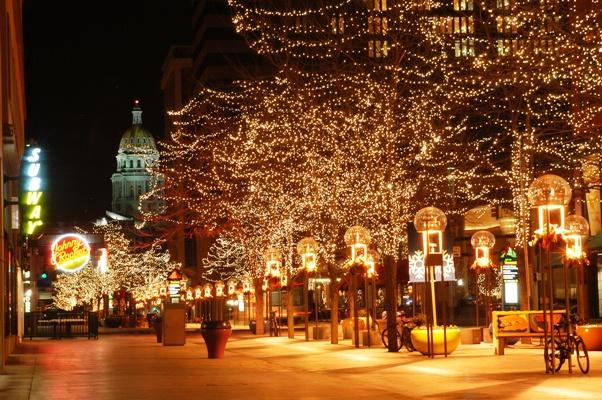 Denver Colorado 16th Street Mall