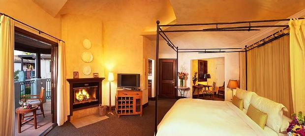 Villagio Inn & Spa guest rooms
