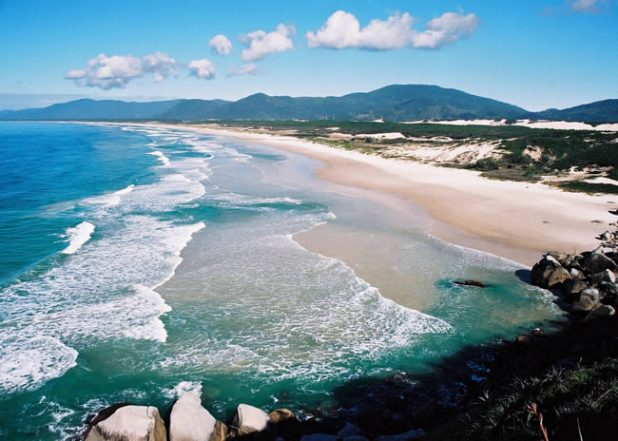 Beach Florianopolis Brazil