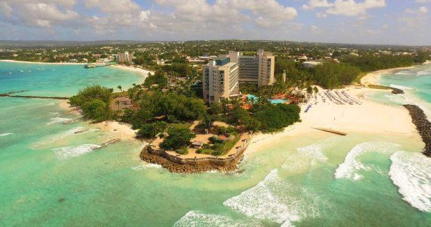 Hilton-Barbados-Aerial