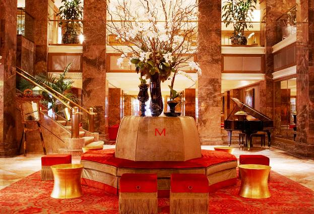 The Michelangelo Hotel Lobby