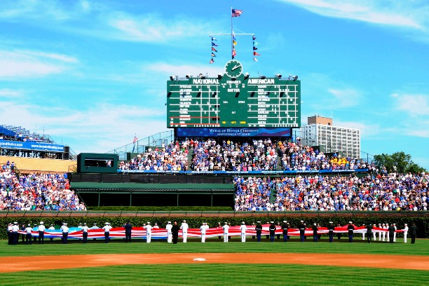 wrigley field is a social space in american culture The culture that has since sprung up around the legendary stadium for american food, try salt and one block north of wrigley field, and is one of chicago's.