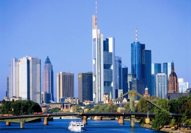 Frankfurt skyline Germany