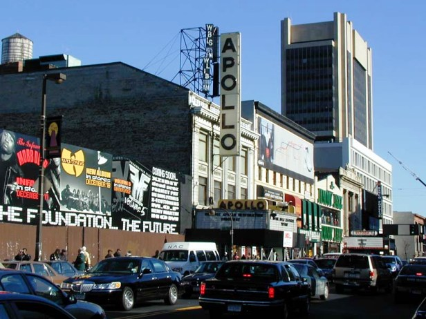 Apollo theater Harlem New York City