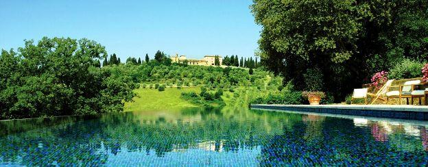 Hotel Castello di Casole Pool