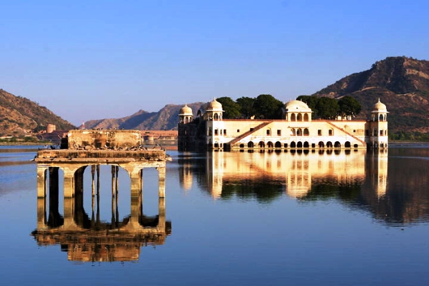 Jal-Mahal Jaipur India