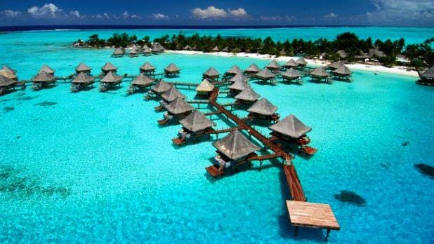 Matira Beach, Bora Bora