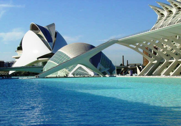 Valencia's modern City of Arts and Sciences