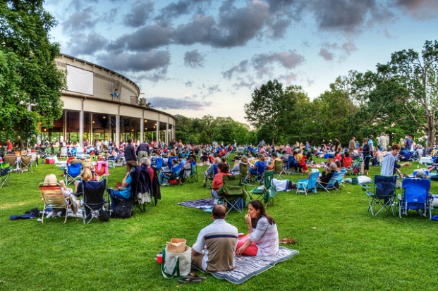 The Tanglewood Music Festival