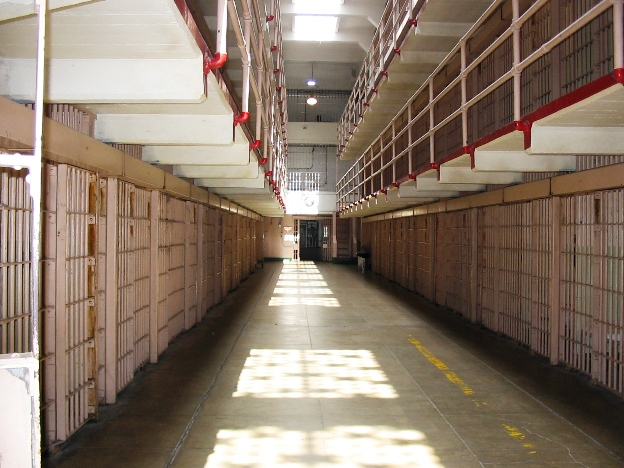 Alcatraz Cell Hall