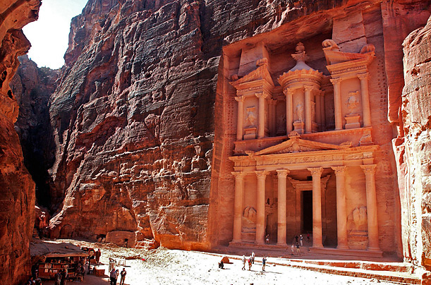 City of Petra Jordan