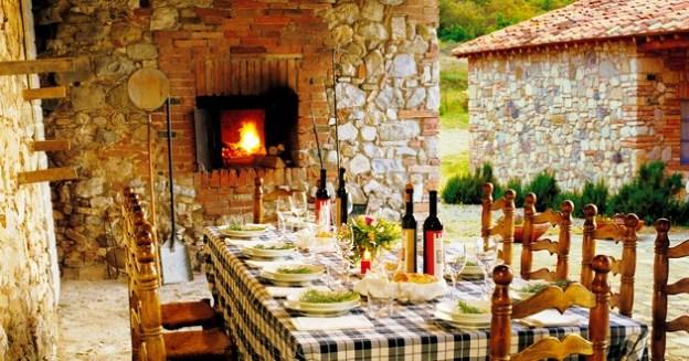 Castello Di Casole Dining Tuscany Italy