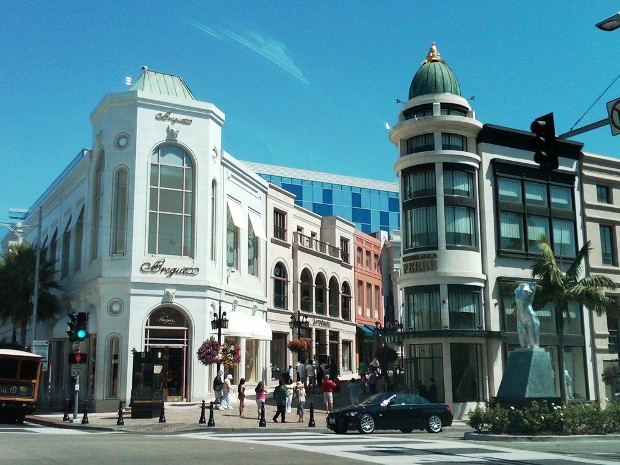 Rodeo Drive Beverly Hills California