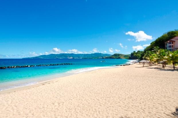 Grenada Pink Gin Beach