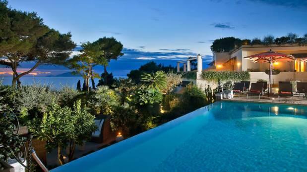 The Beautiful Island Of Capri Italy