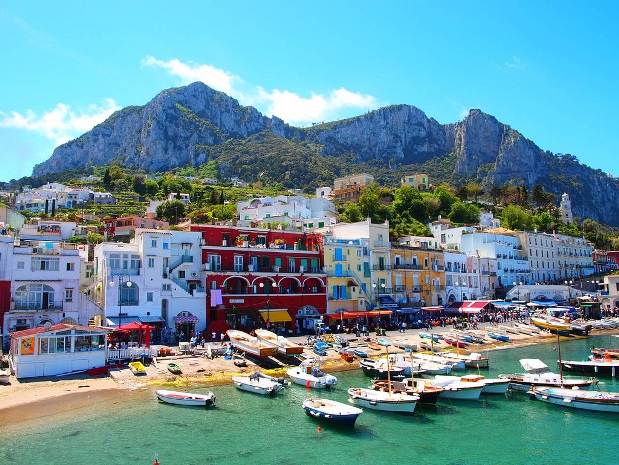 capri Beaches