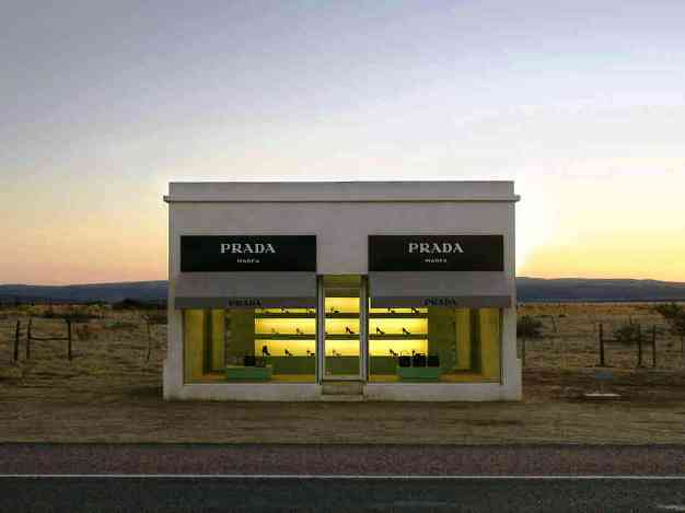 Prada in Marfa Texas