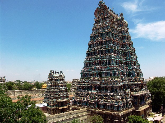 Sri Meenakshi Temple India