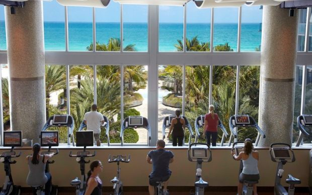 Carillon Hotel fitness center