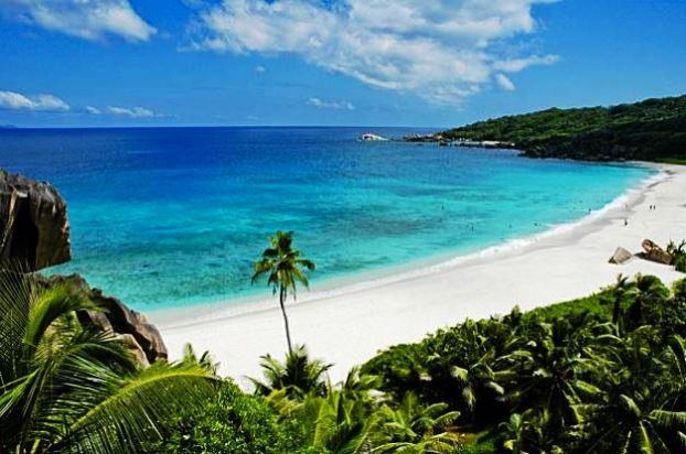 Grande Anse Beach, La Digue Island, Seychelles