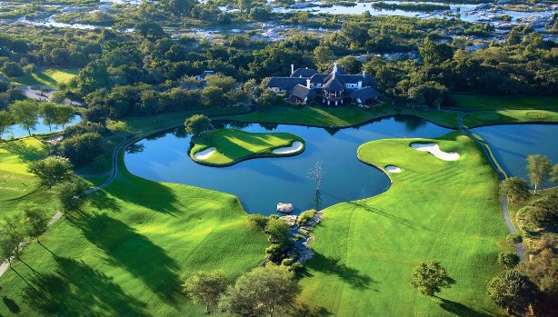 Leopard creek golf course South Africa