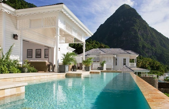 Sugar Beach Stlucia pool