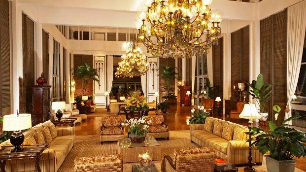 The Kahala Hotel lobby