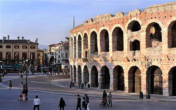 Verona Italy Piazza