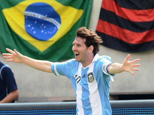 Argentina vs Brazil Lionel Messi scores hat trick