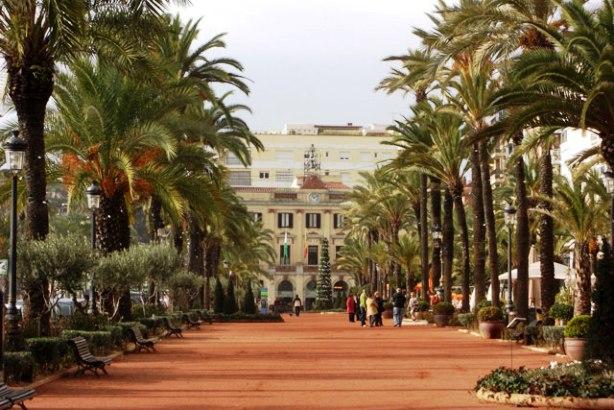 Lloret De Mar Spain Promenade