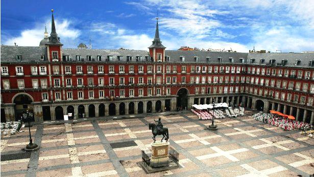 Plaza Major Madrid Spain