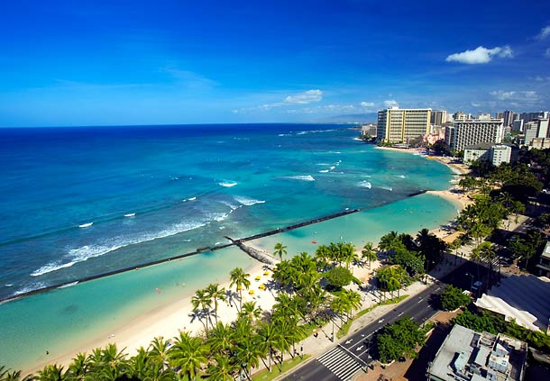 The Waikiki Beach Marriott Resort & Spa beach view