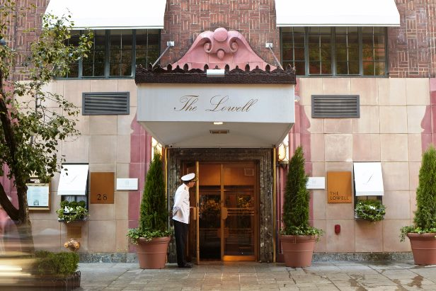 The Lowell Hotel  entrance
