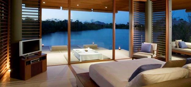 Amanyara Resort guest rooms