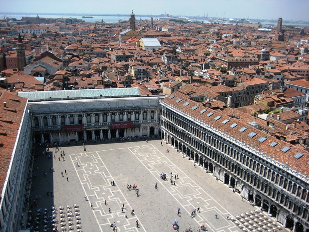 St Mark's Square Venice Italy 2