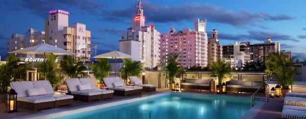 The Redbury Hotel pool