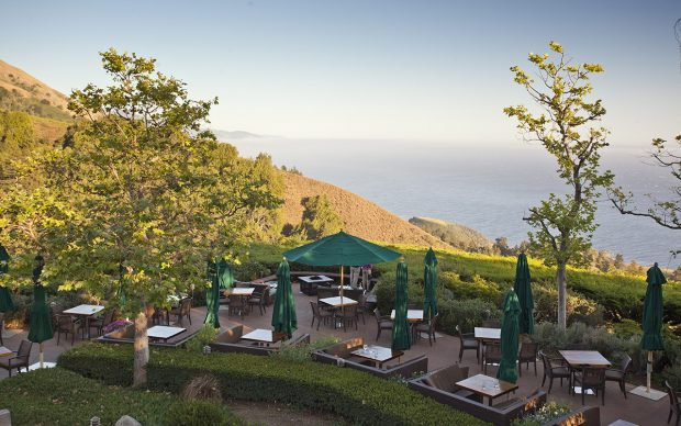 Ventana Inn outdoor dining