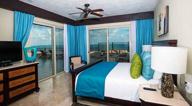 Villa Del Palmar Cancun guest rooms