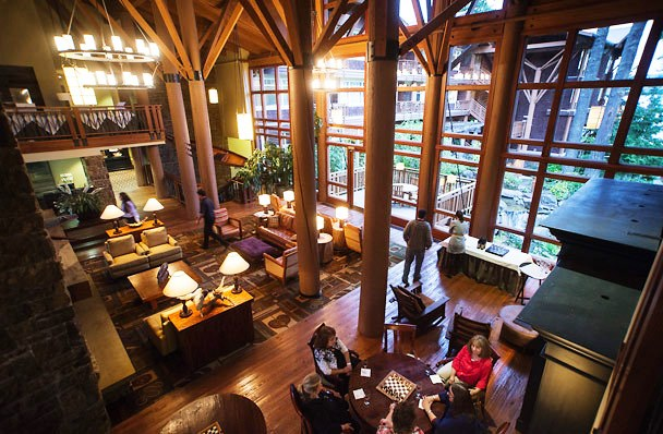 Alderbrook Resort Spa lobby