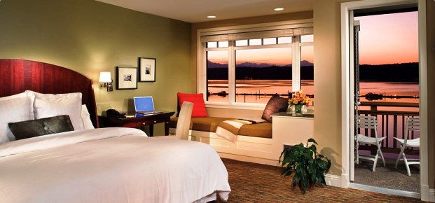 Alderbrook Resort Spa guest rooms