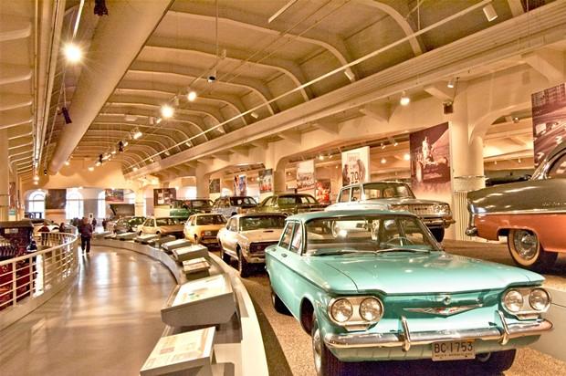 Detroit car museums
