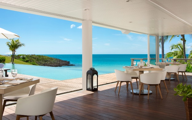 Eleuthera restaurant at the Cove Bahamas resort