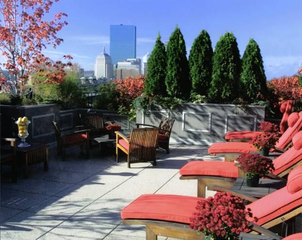 Fifteen Beacon rooftop deck