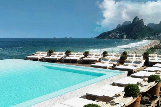 Hotel Fasano Rio de Janeiro Brazil Pool 2