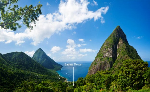 Ladera Resort Aerial