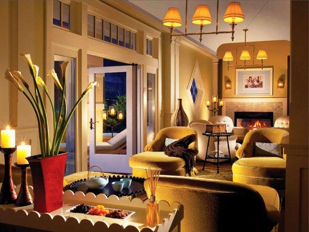 Omni Bedford Springs Resort lobby