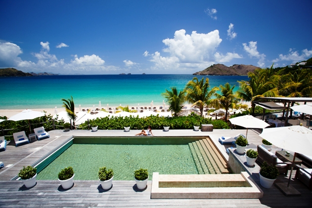 Saint Barth Isle de France Hotel pool