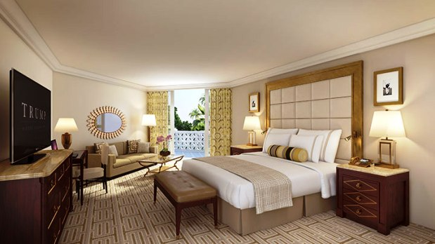 Trump National Doral guest room